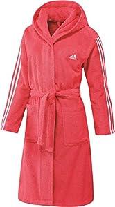 Saunamantel Damen Adidas 3 Streifen